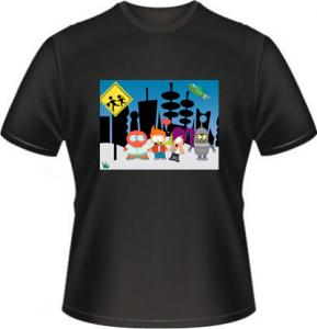 Futurama-South ― Cartoon-Shirts.Ru